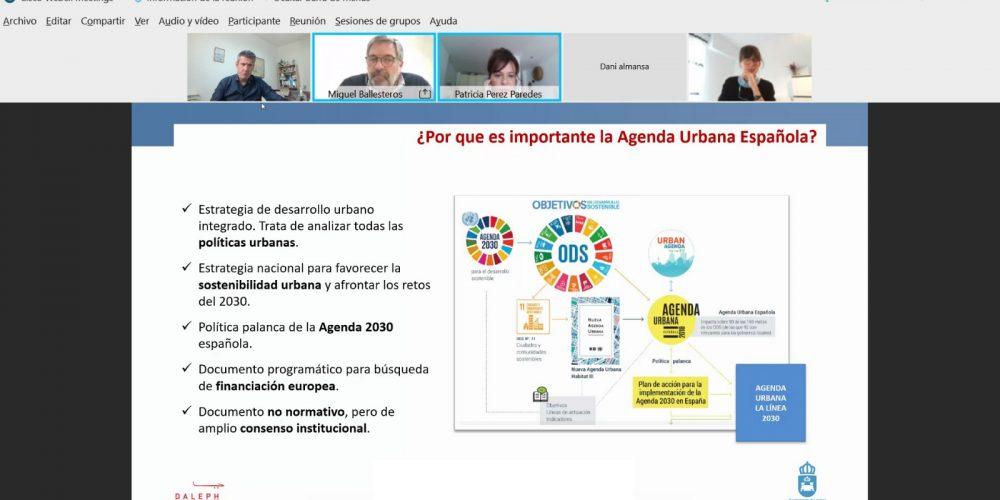 Celebrada la primera reunión para la elaboración de la fase de diagnóstico de la Agenda Urbana